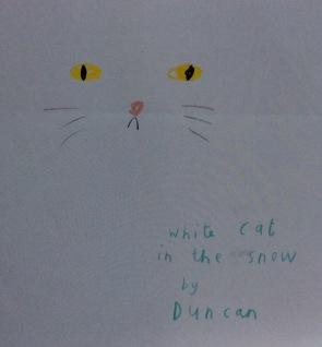 TDTCQ white cat